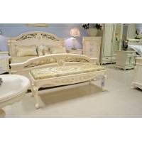 Cпальня Афина белая с золотом (AFINA)