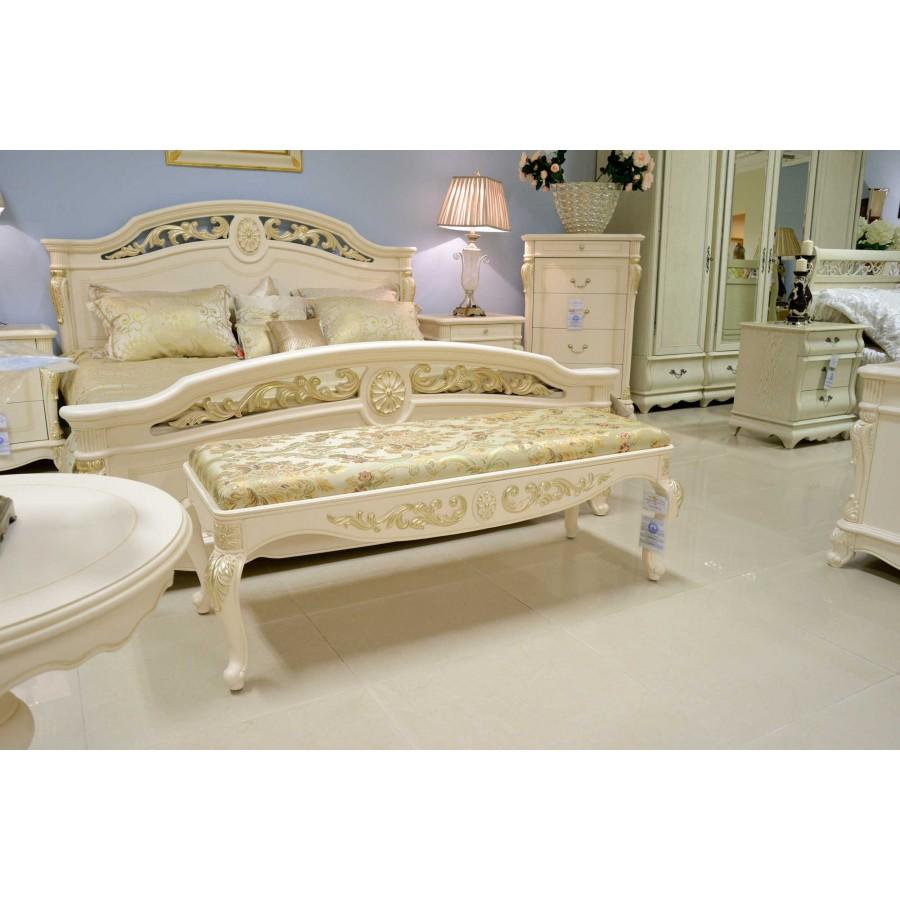 Афина белая с золотом (AFINA) Спальня