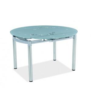 Стол обеденный В179-45 (серебряный)
