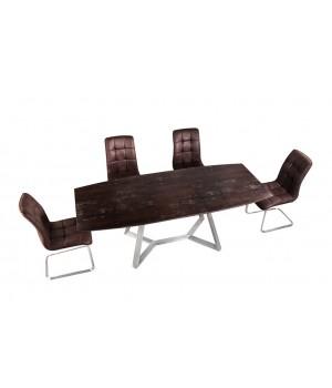 Стол обеденный SOHO (коричневый камень)