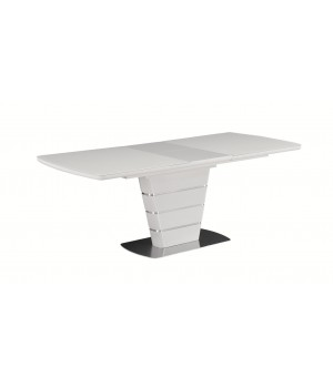 Стол обеденный ZENIT (экстрабелое сатинированное стекло)