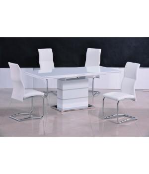 Стол обеденный STAR (белый лак)