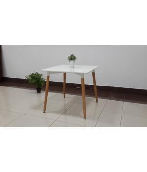 Стол обеденный VITO (800x800x720) WHITE (белый)
