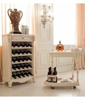 Шкаф винный (Слоновая кость) Carpenter 230
