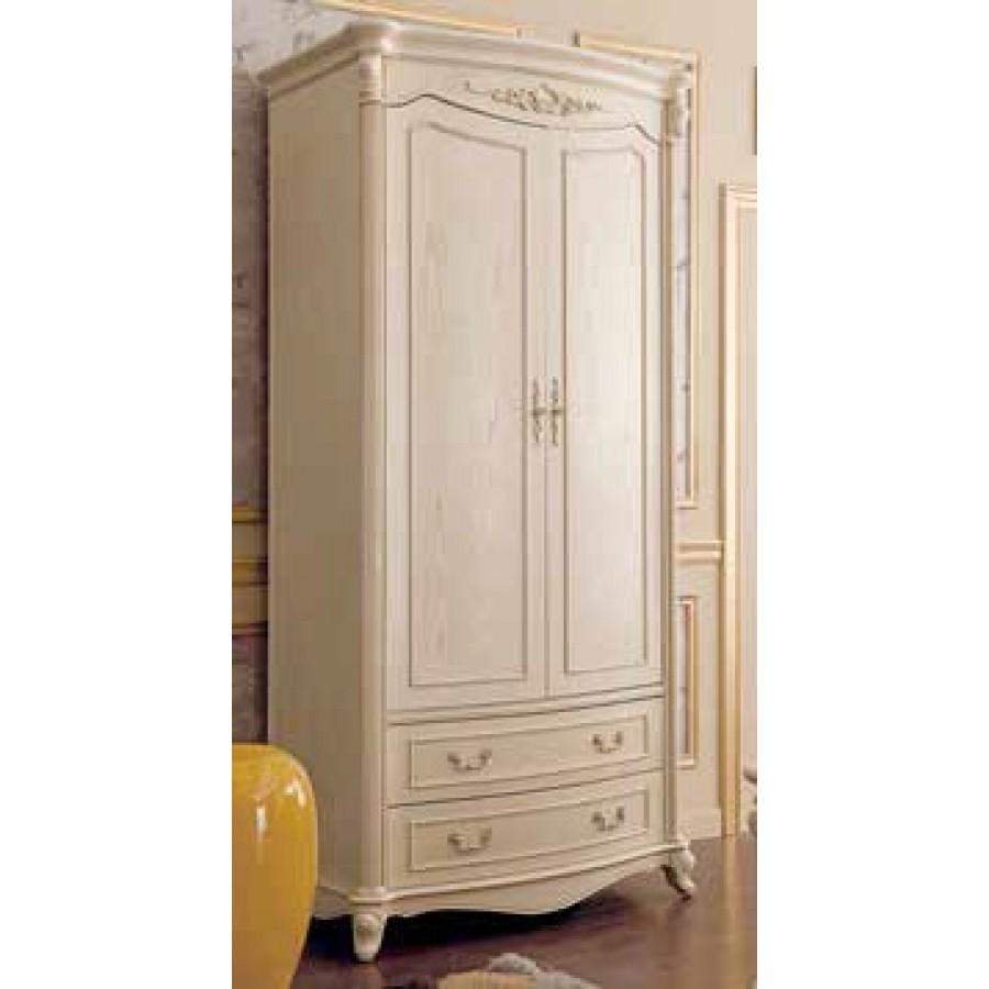 Шкаф (2 двери, Слоновая кость) Carpenter 230