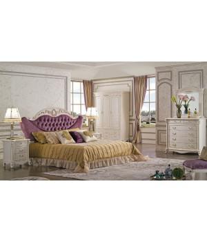Кровать Реджина 180*200 (Слоновая кость, ткань  61) Carpenter 230