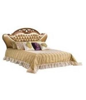 Кровать Реджина 180*200 (Слоновая кость, кожа 32) Carpenter 230