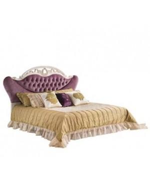 Кровать Реджина 200*220 (Слоновая кость, ткань  61) Carpenter 230