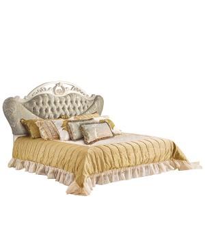 Кровать Реджина 200*220 (Слоновая кость, ткань  63) Carpenter 230
