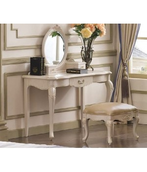 Столик туалетный широкий (Слоновая кость) Carpenter 230