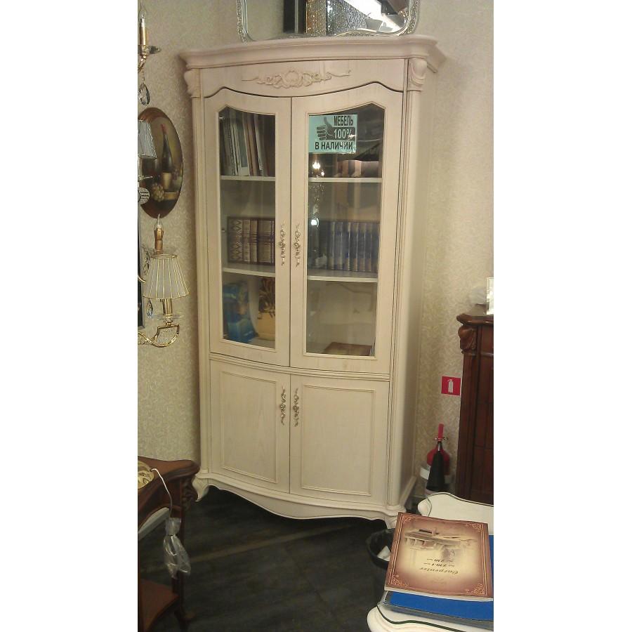 Шкаф книжный (2 двери, Слоновая кость) Carpenter 230