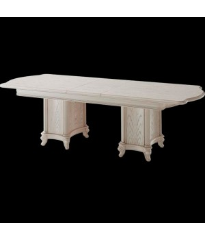Стол обеденный раздвижной (Слоновая кость) Carpenter 230