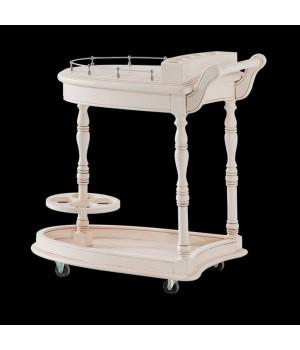 Столик сервировочный (Слоновая кость) Carpenter 230