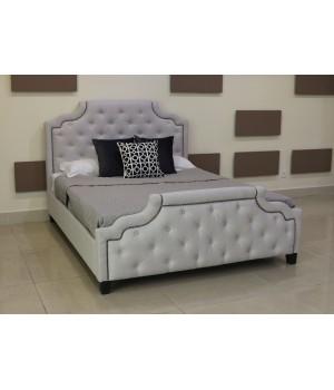 Кровать Marella (Марелла) B595 180*200 Светло-Серый с/осн