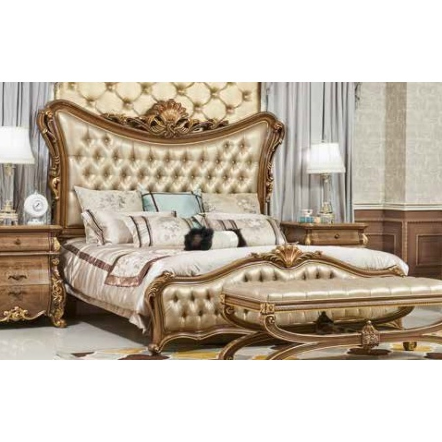 Кровать 1.8 М экокожа Эсмеральда (Esmeralda)