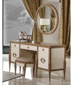 Стол туалетный (A) 1.4M без зеркала Monaco-Ville (Монако-Виль)