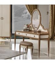 Стол туалетный (B) 1.3M с зеркалом Monaco-Ville (Монако-Виль)