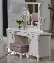 Стол туалетный с зеркалом Sharlyn (Шарлин)
