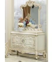 Versailles (Версалес) Комод 3 ящика+зеркало+пуф