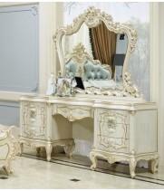 Versailles (Версалес) Туалетный стол с зеркалом+пуф