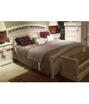 Кровать 1,6*2,0 м с осн Vivaldi Avorio