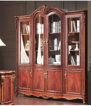 Шкаф книжный 4-х дверный Александрия (Aleksandria)