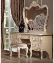Стол туалетный с зеркалом Корсика бьянка (Corsica bianca)