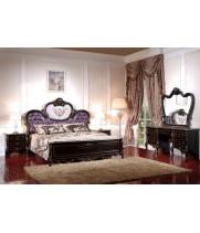 Кровать 1,8*2,0 м (ткань сиреневая) б/л Корсика (Corsica)