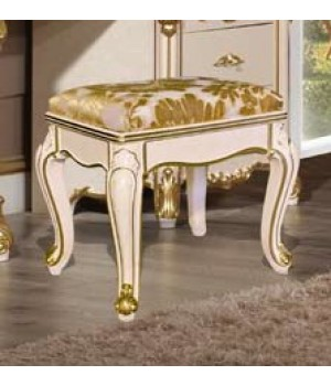 Пуф ткань золотая Фиора Каса (Fiora Casa)