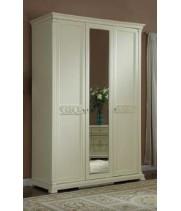 Шкаф 3-дверный Тиффани аворио (Tiffani Avorio)
