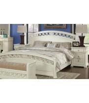 Кровать 1,2*2,0 м б/л Тиффани аворио (Tiffani Avorio)