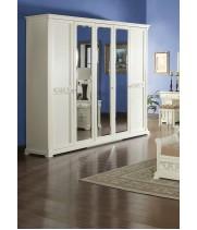 Шкаф 5-дверный Тиффани аворио (Tiffani Avorio)