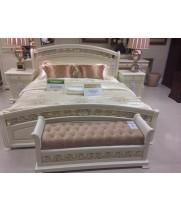 Кровать 1,6*2,0 м б/л Тиффани аворио (Tiffani Avorio)