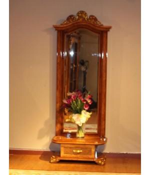 Принцесса 3829 Зеркало напольное (орех)