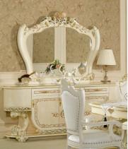 Принцесса 3829W Комод с зеркалом