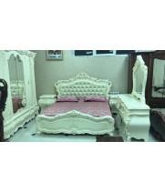 Кровать 1,8м  Кожа Мирабелла 3907