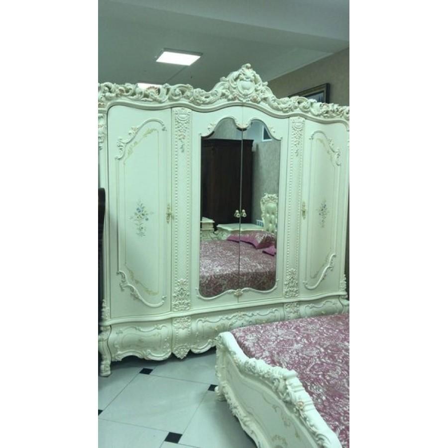 Шкаф 4-дв Мирабелла 3907