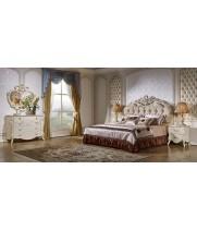 Спальня Шанель маренго с золотом