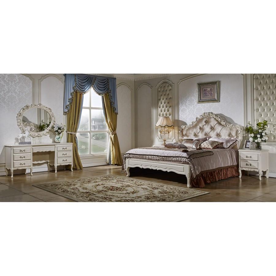 Спальня Виттория белый жемчуг