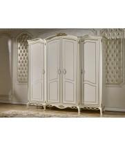 Шкаф 4-х дверный Бьянка