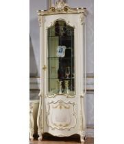 Магдалена белая Витрина -1 дв.