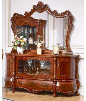 Мона-Лиза орех Комод с зеркалом