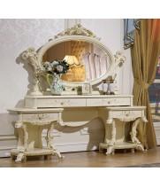 Роял слоновая кость Туалетный столик с зеркалом