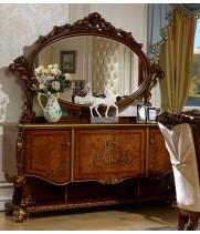 Роял орех Комод с зеркалом