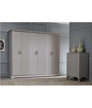 Шкаф 6 дверный МИЯ 6005