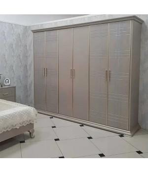 Шкаф 6- дверный МОНАКО 6004