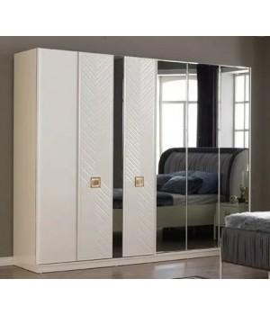 Шкаф 6 дверный ТЕРРА 7004