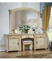 Туалетный стол с зеркалом АТАНАСИЯ (беж)