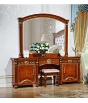 Туалетный стол с зеркалом АТАНАСИЯ (орех)