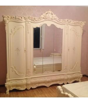 Шкаф 5-ти дверный Мона Лиза (беж)